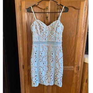Lulus Crochet Mini Dress Size Small